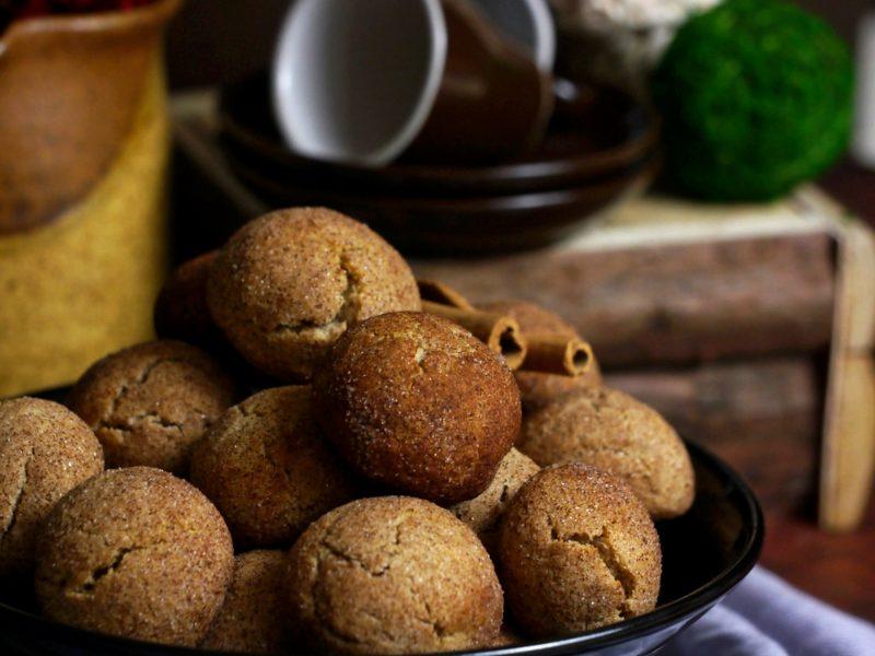 Cinammon crinkle cookies