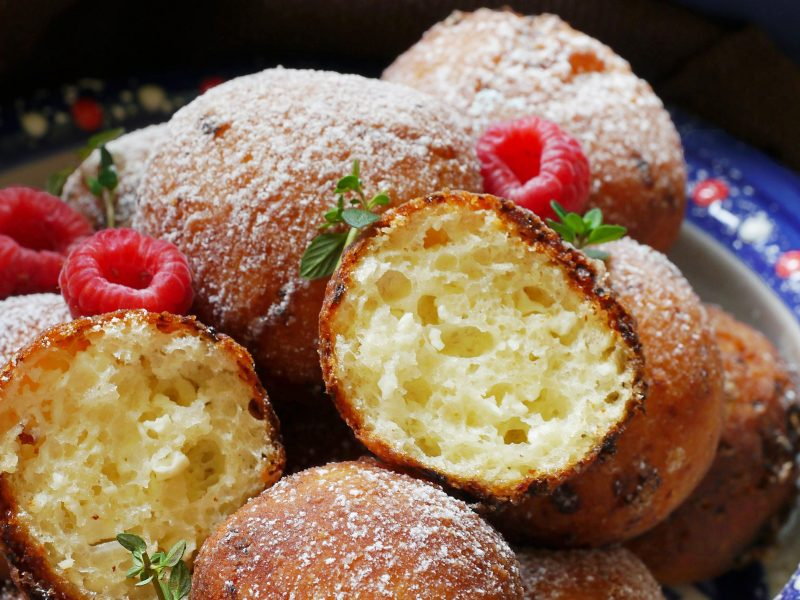 Fried Cottage cheese donuts/ balls